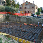 Realizzazione di vespaio areato su fondazioni a pali trivellati