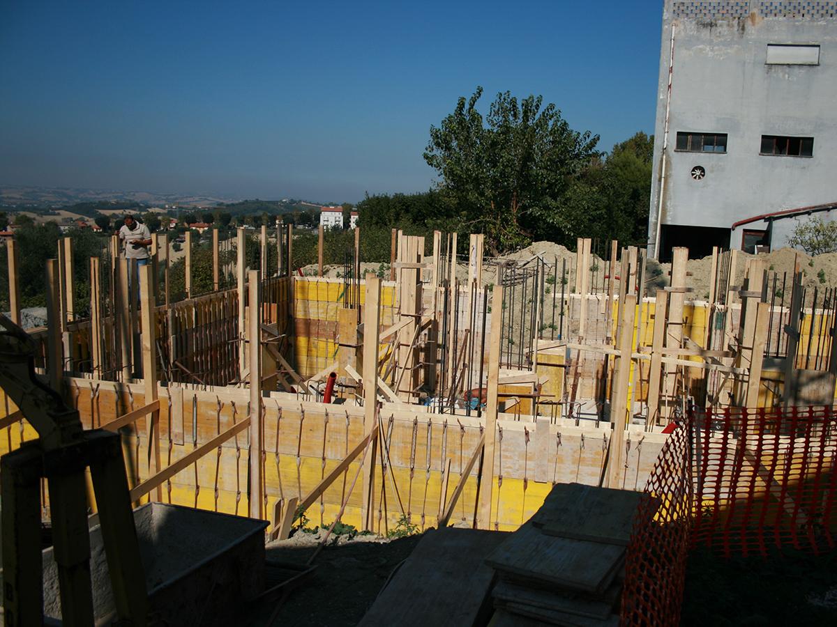 Nuova costruzione for Progettista del piano interrato
