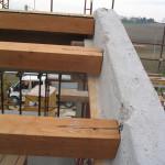 Montaggio travi di copertura in legno con sistema Jwood