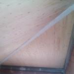 Solaio in legno e acciaio di copertura
