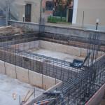 Casseratura travi di fondazione