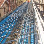 Armatura cornicone di copertura con eliminazione ponti termici
