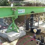 Prova di carico su pali di fondazione