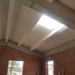 Intradosso solaio di copertura in legno lamellare