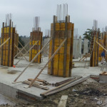 Casseratura pilastri piano terra