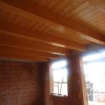 Solaio in legno piano primo
