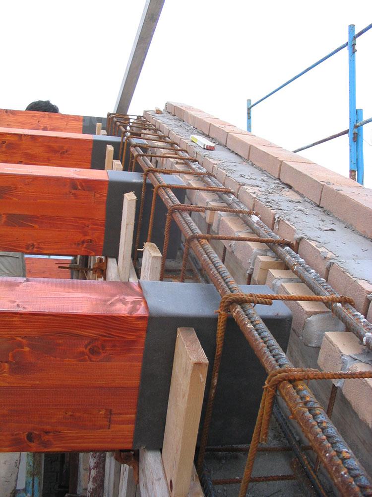 Edificio muratura 03 for Piccola casa costruita su fondamenta