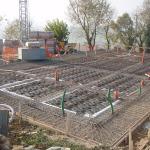 Armatura cordoli di fondazone di collegamento dei pali trivellati