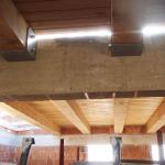 Intradosso solaio piano primo in legno