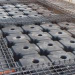 Armatura cordoli di fondazioni di collegamento dei pali trivellati