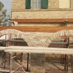 Montaggio travi portanti in legno di copertura