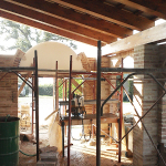 Realizzazione di muratura di tamponamento