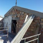 Piano secondo dopo demolizione solaio di copertura