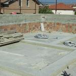 Realizzazione di rinforzi su solaio per posa della nuova struttura in legno