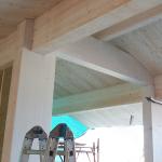 Telaio in legno portante nuova struttura