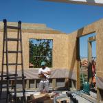 Fissaggio pannelli OSB per tamponamento pareti