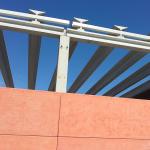 Vista elementi costruttivi della struttura