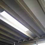 Montaggio pannelli in alluminio di copertura