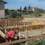 Casseratura cordoli di collegamento delle teste dei pali di fondazione