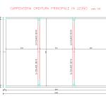Schema carpenteria orditura principale