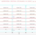 Schema carpenteria orditura secondaria